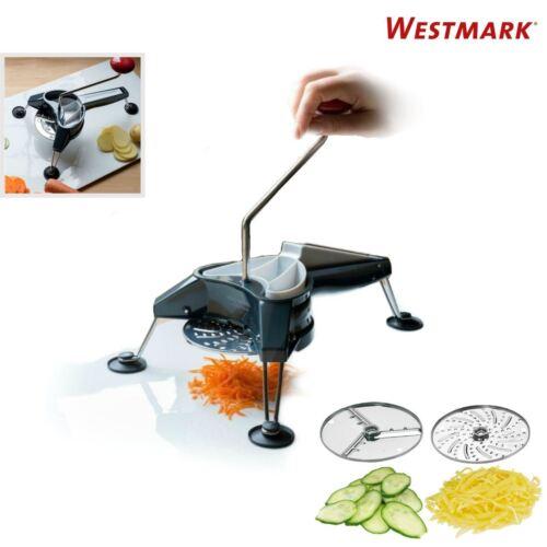 Westmark Multipurpose Heavy Duty Rotary Cheese /& Vegetable Grater Cutter Slicer