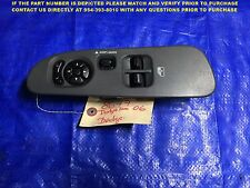OEM 01 2002 2003 DODGE DAKOTA 2 DOOR DRIVER LEFT MASTER WINDOW SWITCH 211210-108