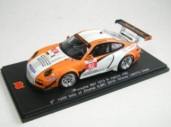Porsche 997 GT3 R Hybrid No. 92 Zhuhai Ilmc 2010