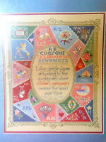 Cross Stitch Kit Vera's Victorian Crazy Quilt Dimensions Usa 3677 Sampler