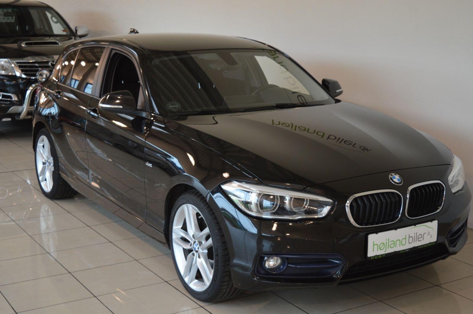 BMW 116d 1,5 aut. 5d - 204.900 kr.