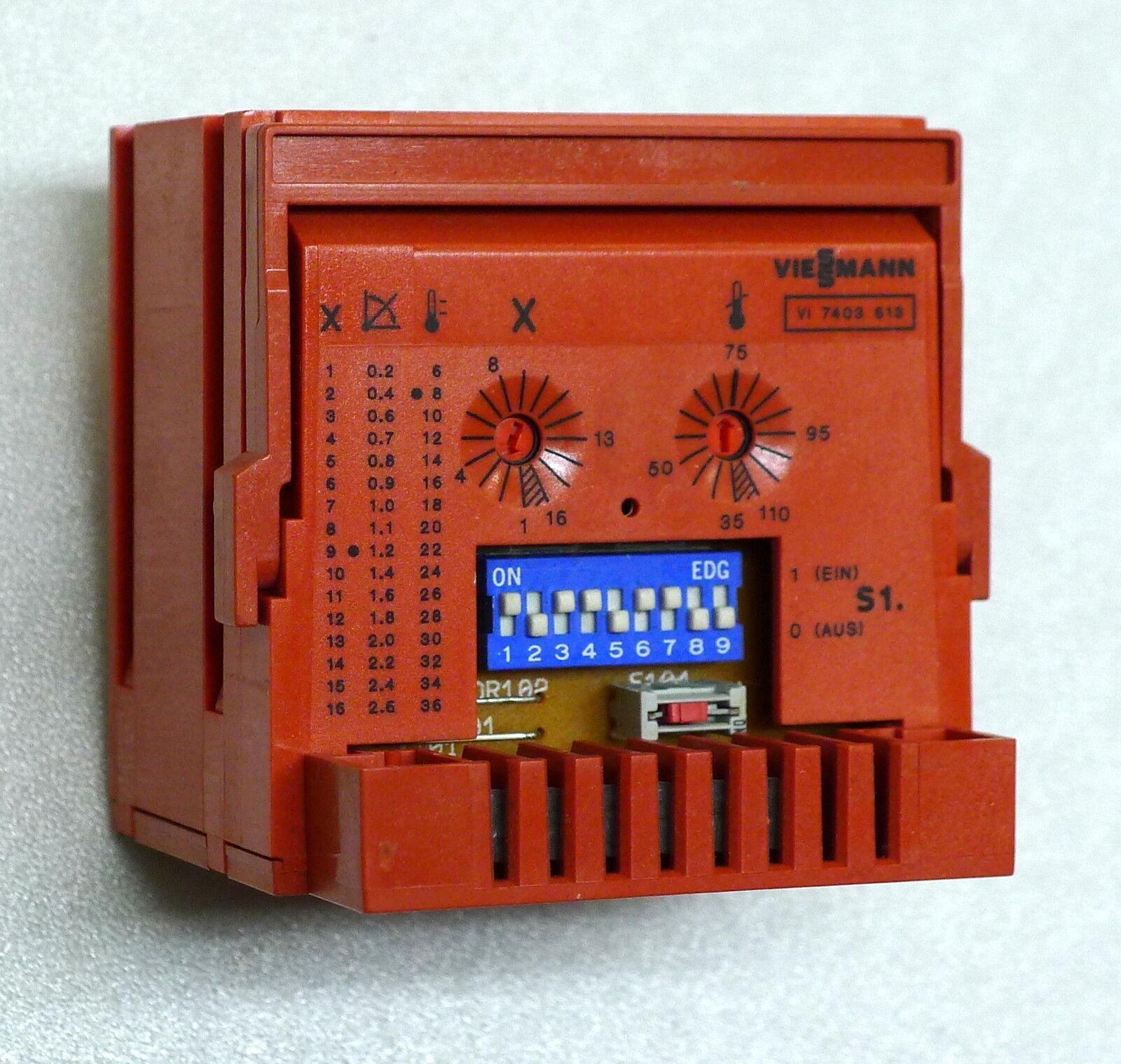 Viessmann Elektronikbox Reglerbox 7403217  7403 217 Garantie  Inzahlungnahme