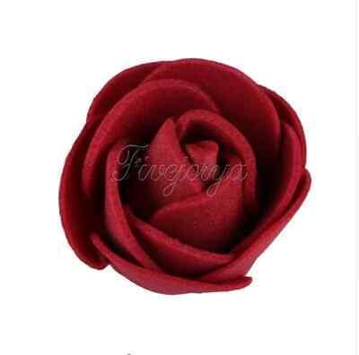 Möbel & Wohnen 100x Schaum Rosen Künstliche Blumen Rosenköpfe Rosenblüten Hochzeit Deko Ein GefüHl Der Leichtigkeit Und Energie Erzeugen