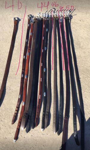 Belts Lot of Leather Belts