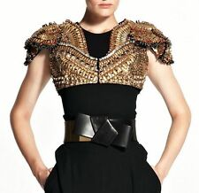 **Alexander Mcqueen** Obi Dress Bow Belt in Black