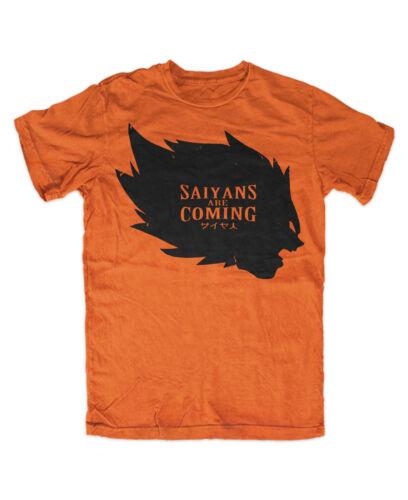 Saiyans are Coming Premium Tshirt Orange Vegeta Dragonball Z,vegeta,DBZ