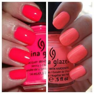 Image Is Loading China Glaze Nail Polish SUMMER FAVOURITES POOL PARTY
