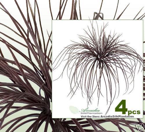 "FOUR 21/"" Grass Bushes Artificial Silk Plants BG033DKBU"