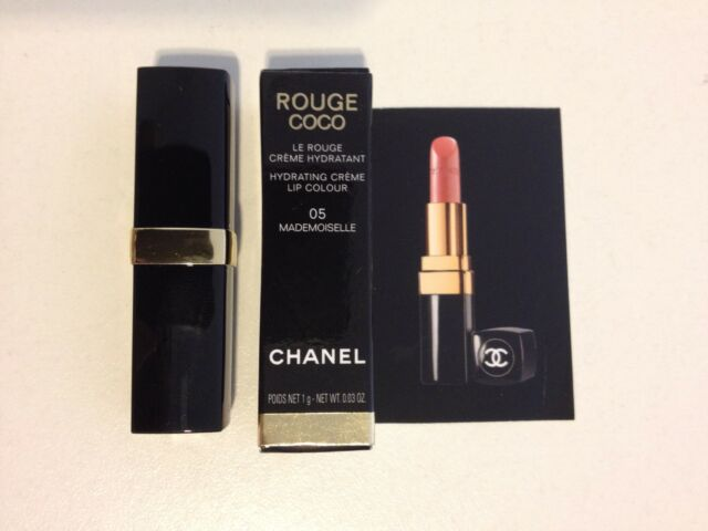 NIB CHANEL Rouge Coco Lipstick Mini Travel- 1g/0.03oz - 05 Mademoiselle