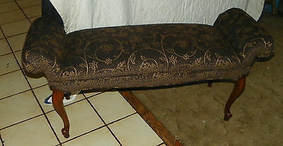 Walnut Carved End Of Bed Bench /vanity Bench To Rank First Among Similar Products Entry Bench bn127