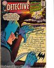 Marvel Comics Detective Comics / Batman's Last Hour. # 366. Aug. 1967.  G/VG.