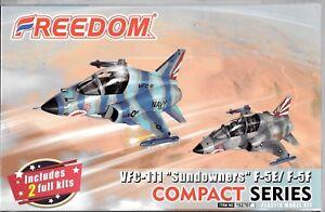 Freedom Compact Series USN F-5E, F-5F VFC-111 (2 Kits) Toon Aircraft 162707 DO