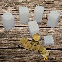 5 Coinsafe Small Dollar Square Coin Tube - Coin Supplies