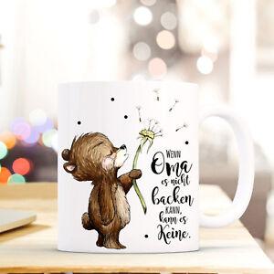 Büro & Schreibwaren Offen Tasse Becher Süßer Bär Pusteblume Kaffeebecher Spruch Zitat Wenn Oma.. Ts568 Blut NäHren Und Geist Einstellen Kindergeschirr & -besteck