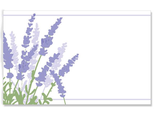 Lavender Fields Enclosure Cards w/Envelopes