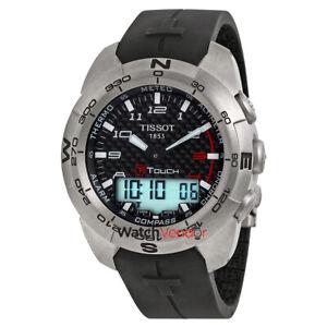 Tissot-T-Touch-Expert-Titanium-Analog-Digital-Men-039-s-Watch-T013-420-47-202-00