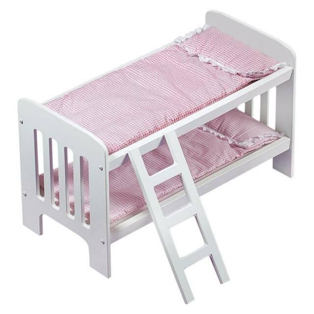 Badger Basket 01855 Doll Bunk Beds With Ladder 01855 For Sale Online Ebay