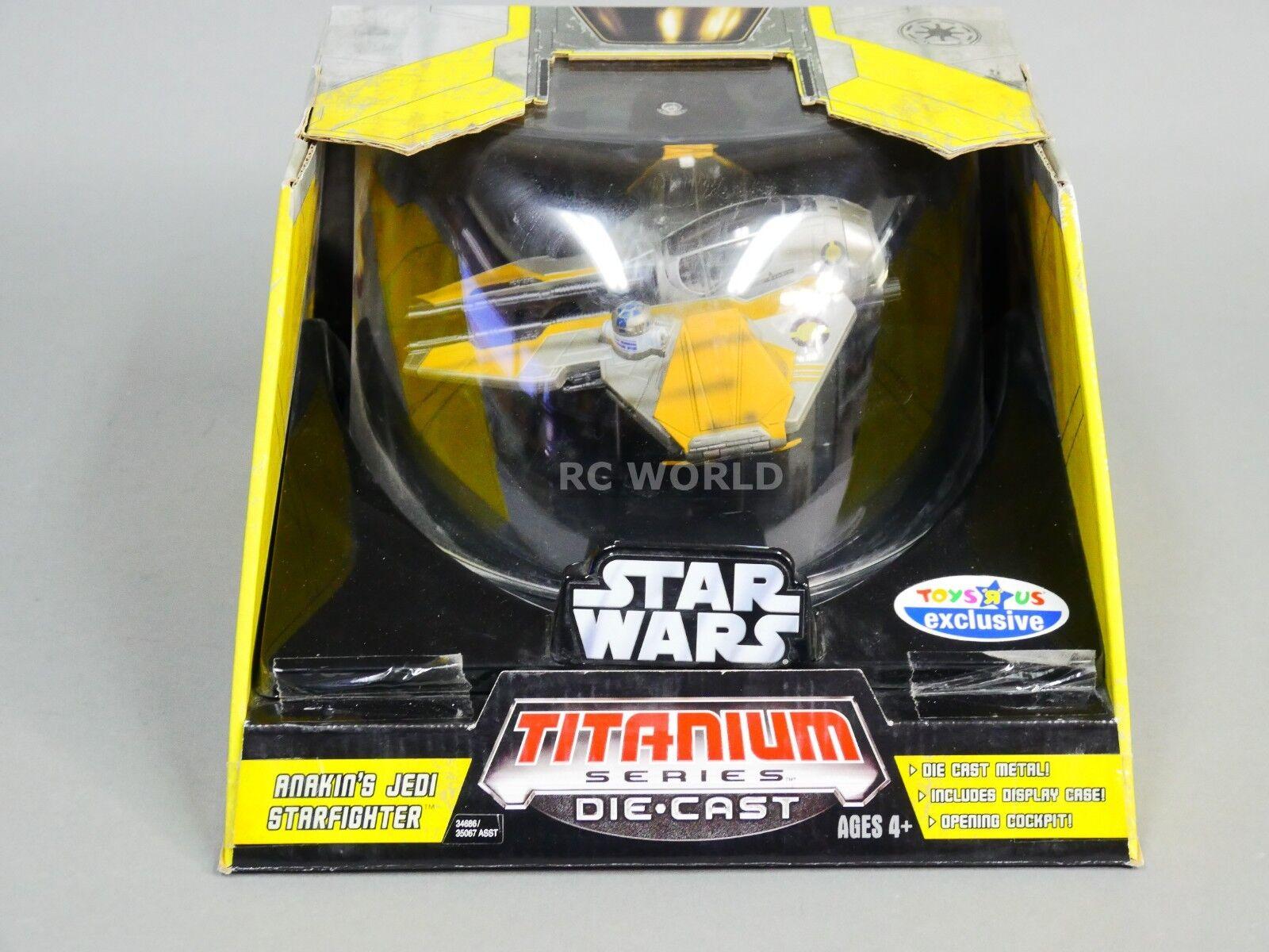 Star - wars - reihe anakins jedi - druckguss - modell   ob1