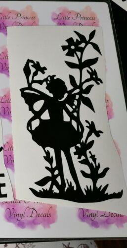 Fairy vinyl decal walls etc For bottles crafts