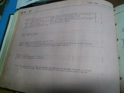Peugeot J7    Roulement   3326.11