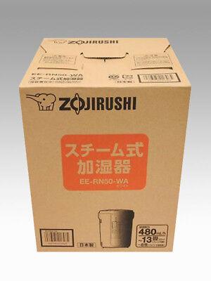 ZOJIRUSHI steam humidifier humidification amount 500mL h white EE-RN50-WA