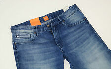 Nuevo-Hugo Boss Orange 24 Barcelona-w36 l34-blue jeans denim regular 36/34