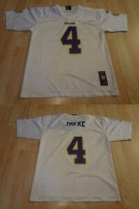 a04f1a9972f0 Youth Minnesota Vikings Bret Favre L (14 16) Jersey (White) Reebok ...