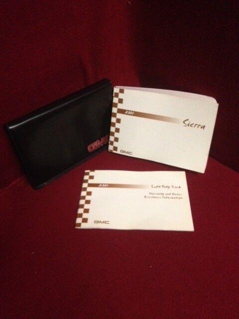 2004 Gmc Sierra 1500 Owners Manual Set With Warranty Guide