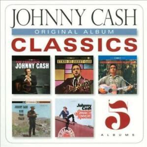 Johnny-Cash-Original-Album-Classics-New-amp-Sealed-5-CD-Pack