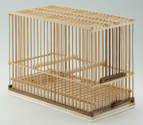 New Natural Pet Foods Foods Foods Bird Cage Takekago made of Bamboo Japanese cedar 035c81
