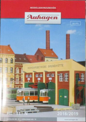Auhagen 99615 Katalog Nr 15 2018//2019