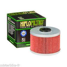 Filtre à huile Hiflofiltro HF112 HONDA CBR 300 R 2014-2015 / XL 350 R 1985-1988