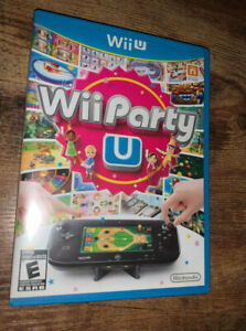 Wii Party U (Nintendo Wii U) (PRE-OWNED, GREAT CONDITION)