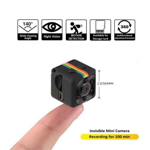 Spion versteckt DV DVR Mini Kamera Full HD Mini Auto Dash Cam IR Nachtsicht