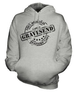 compleanno di ° Hoodie Gravesend Unisex In Gift Womens Natale Ladies Mens 50 Made fwvqBWPnRn
