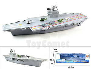 US-Navy-Air-Force-Aircraft-Carrier-Warship-Battleship-Ship-45cm-Toy-Model