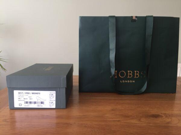 """""""hobbs Of London"""" Shoe/heels Boxes & Large Gift Bag In Traditional Green & Gold Hoge Kwaliteit En Goedkoop"""