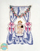 Cross Stitch Chart / Pattern Mirabilia Bedtime Friends Baby & Teddy Bear Mls2