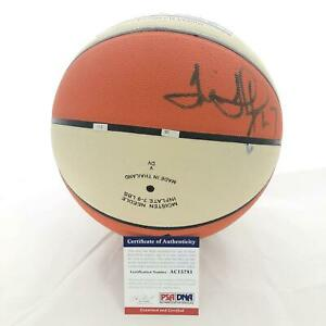 Tina Thompson Signed WNBA Basketball PSA/DNA Autographed Houston Comets