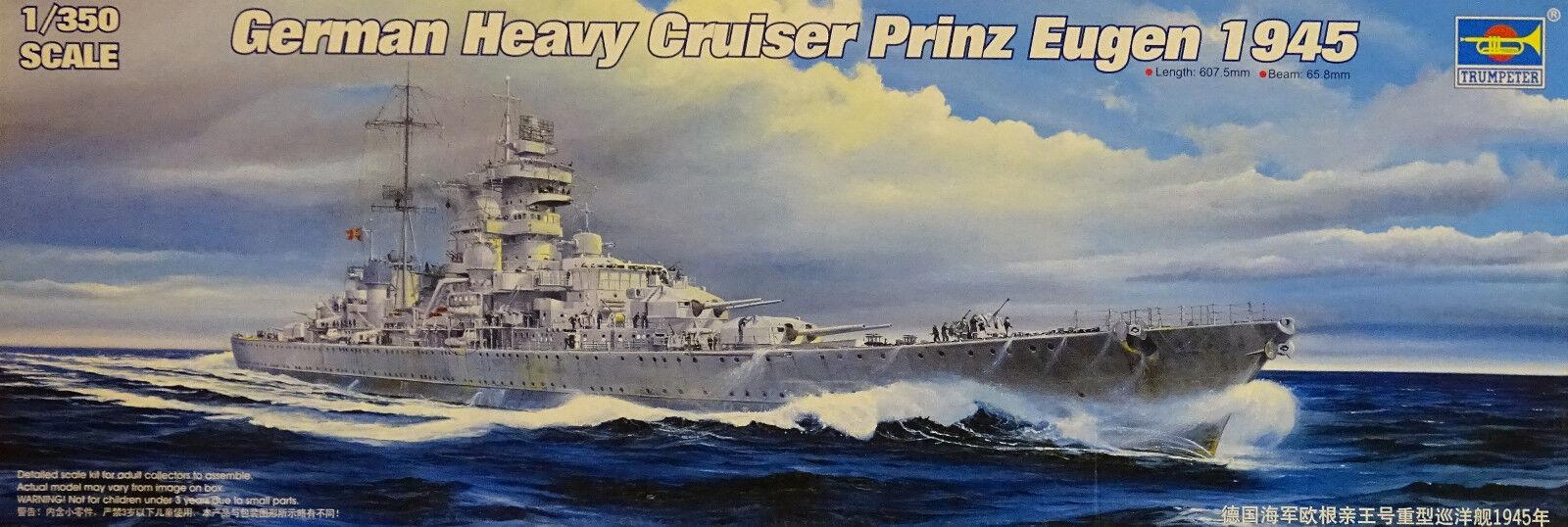 TRUMPETER® TRUMPETER® TRUMPETER® 05313 German Heavy Cruiser Prinz Eugen 1945 in 1 350 68a677