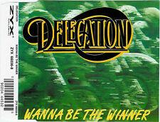 DELEGATION Wanna Be The Winner 4x CD Single 1995 Germany ZYX 66036-8