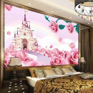 image is loading tender pink castle 3d full wall mural photo