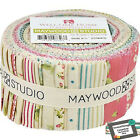 Quilting Jelly Roll Sewing WELCOME HOME Quilt 2.5 inch strip Country Floral F...