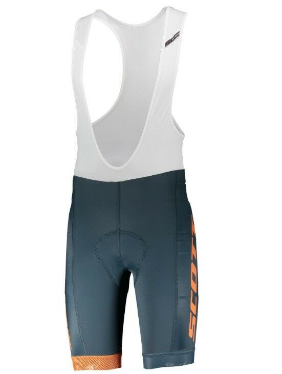 Shorts SCOTT RC TEAM Blau Orange Trägerhose Scott rc Team Team Team faf5fa