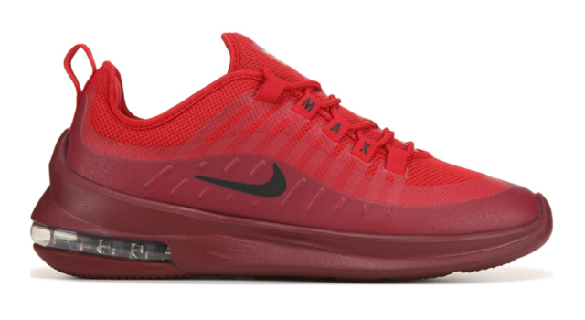 New Men's Nike Air Max Axis Shoes (AA2146 601) Red Black Red