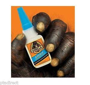 Gorilla-Super-Glue-Full-Range-Choose-3g-2-x-3g-15g-15g-Gel-12g-Brush-amp-Nozzle