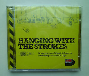 RARE-THE-STROKES-MEMORABILIA-Hanging-With-The-Strokes-NME-Limited-Edition-CD