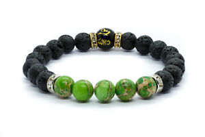 Heart Chakra Stones Bracelet. Natural Healing Imperial Crystal Beads Jewellery