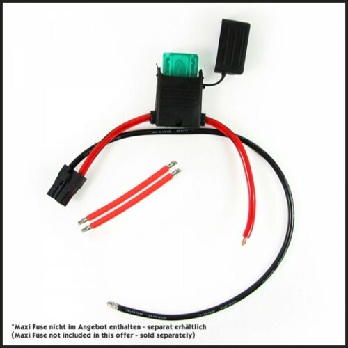Pièce de rechange de scooter électrique Maxi Fuse câble pour le câblage de la