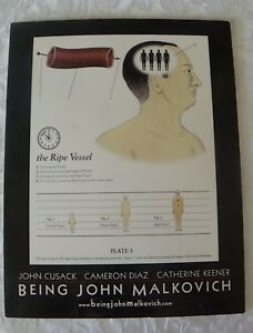 Being John Malkovich Blu-ray - John Cusack